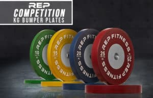 Rep Fitness Rep Competition Bumper Plates (KG) main