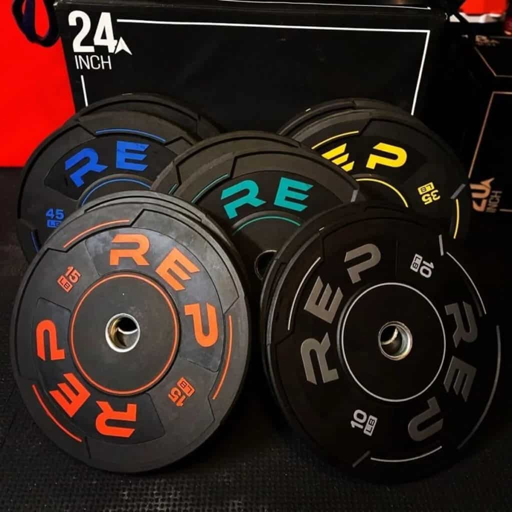Rep Fitness Sport Plates all weights