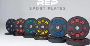 Rep Fitness Sport Plates main