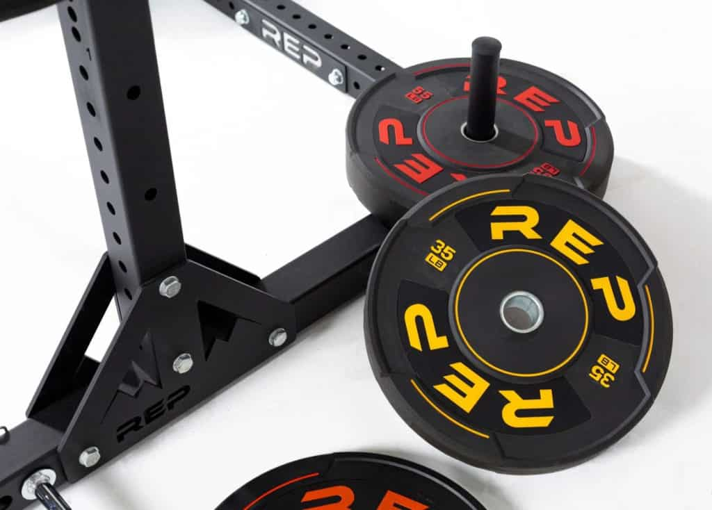 Rep Fitness Sport Plates yellow and red