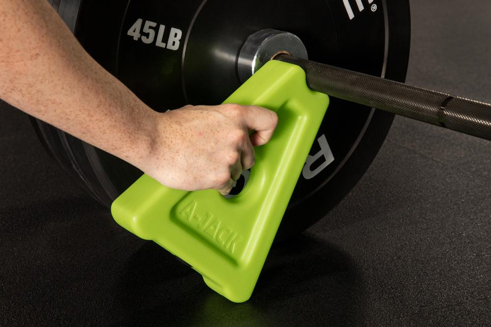 Rogue A-Jack with a barbell 1