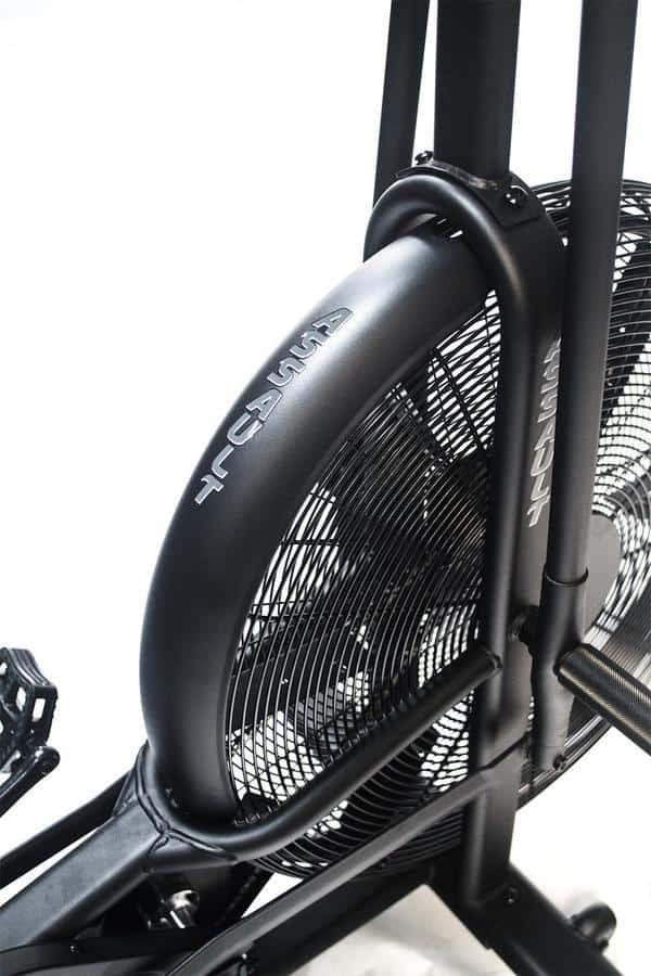 Rogue Assault AirBike wheel close up