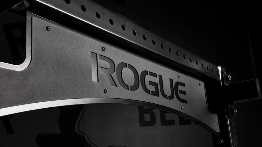 Rogue Monster Lite Half Rack brand name