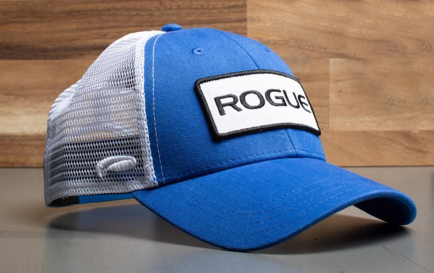 Rogue Patch Trucker Hat blue