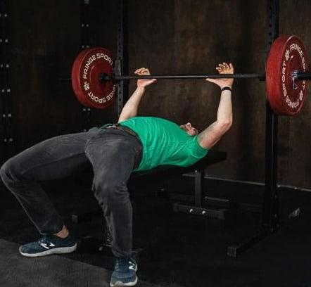 Fringe Sport Bomba Barbell V3 - Black 20kg Mens with a user