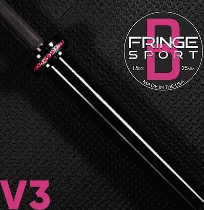 Fringe Sport Bomba V3 Womens Barbell - Black 15kg Womens main photo