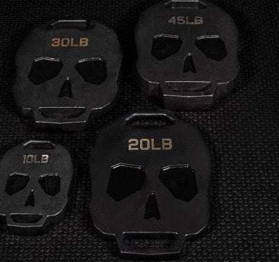 Fringe Sport Bonehead Ruck Weight Plates complete set