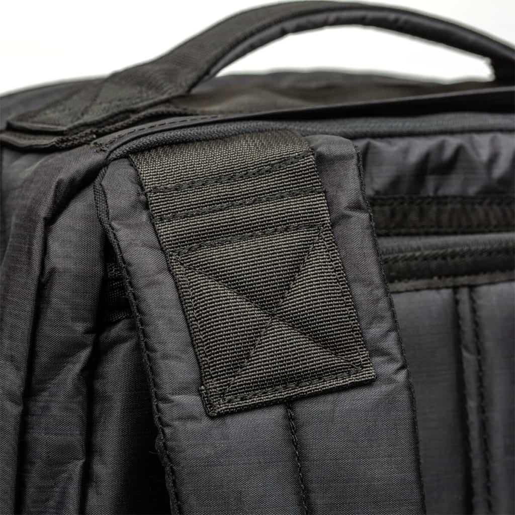 GORUCK GR1 x Carryology - Guerrilla X strap close up
