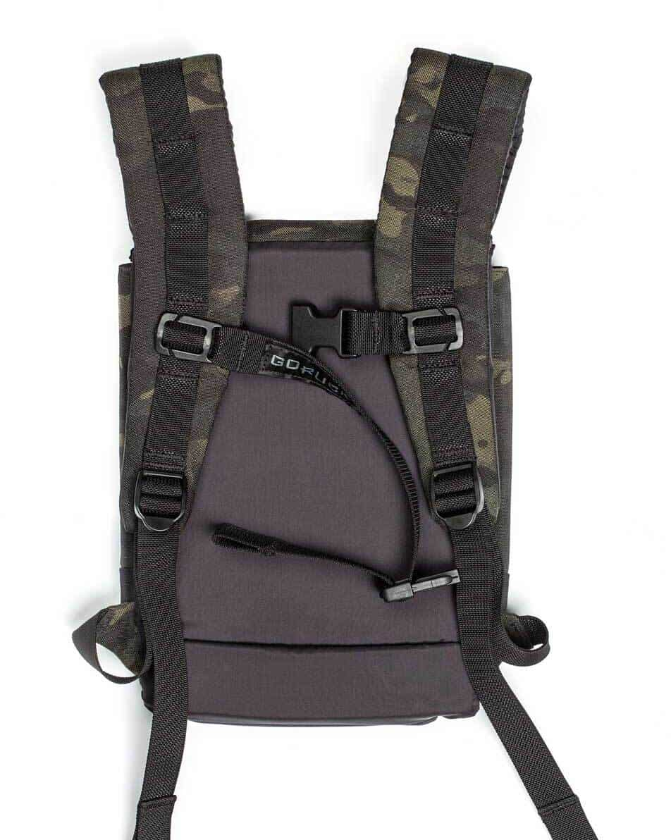 GORUCK Ruck Plate Carrier black multicam back