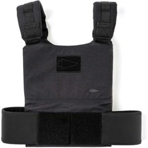 GORUCK Training Weight Vest black full view front