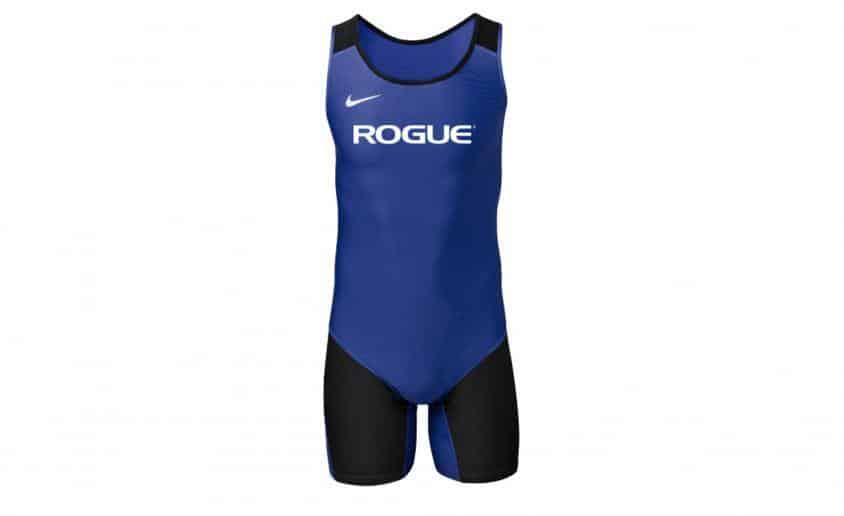 Men's Rogue Nike Singlet men royal black front