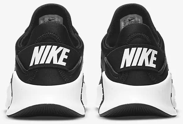 Nike Free Metcon 4 Women Black Black Volt White back view