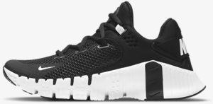 Nike Free Metcon 4 Women Black Black Volt White left side view