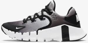 Nike Free Metcon 4 Women White Black left side view