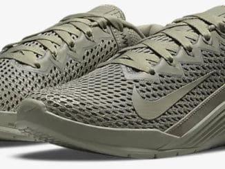 Nike Metcon 6 AMP quarter view left pair
