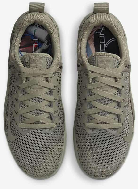 Nike Metcon 6 AMP top view pair