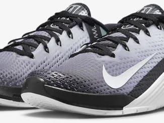 Nike Metcon 6 BlackWhite quarter view left
