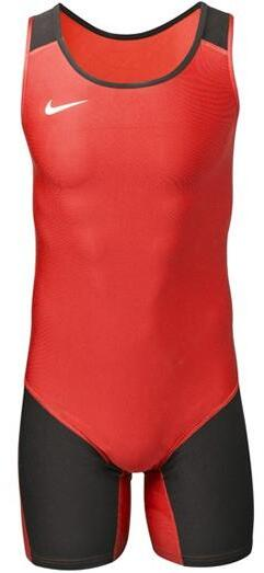 Nike Weightlifting Singlet men red