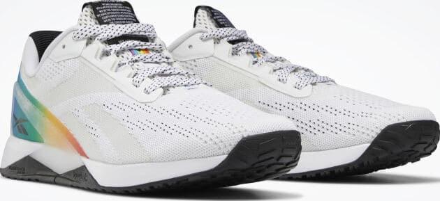 Reebok Nano XI Pride Training Shoes pair quarter view right