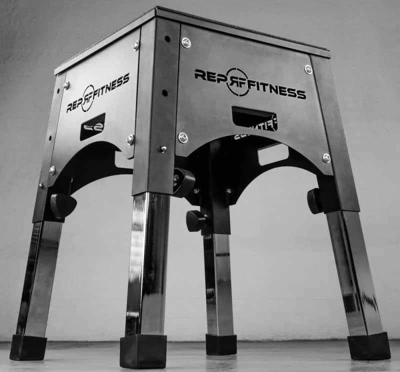 Rep Fitness Adjustable Plyo Box bottom view