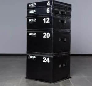 Rep Fitness Soft Foam Plyo Box sizes