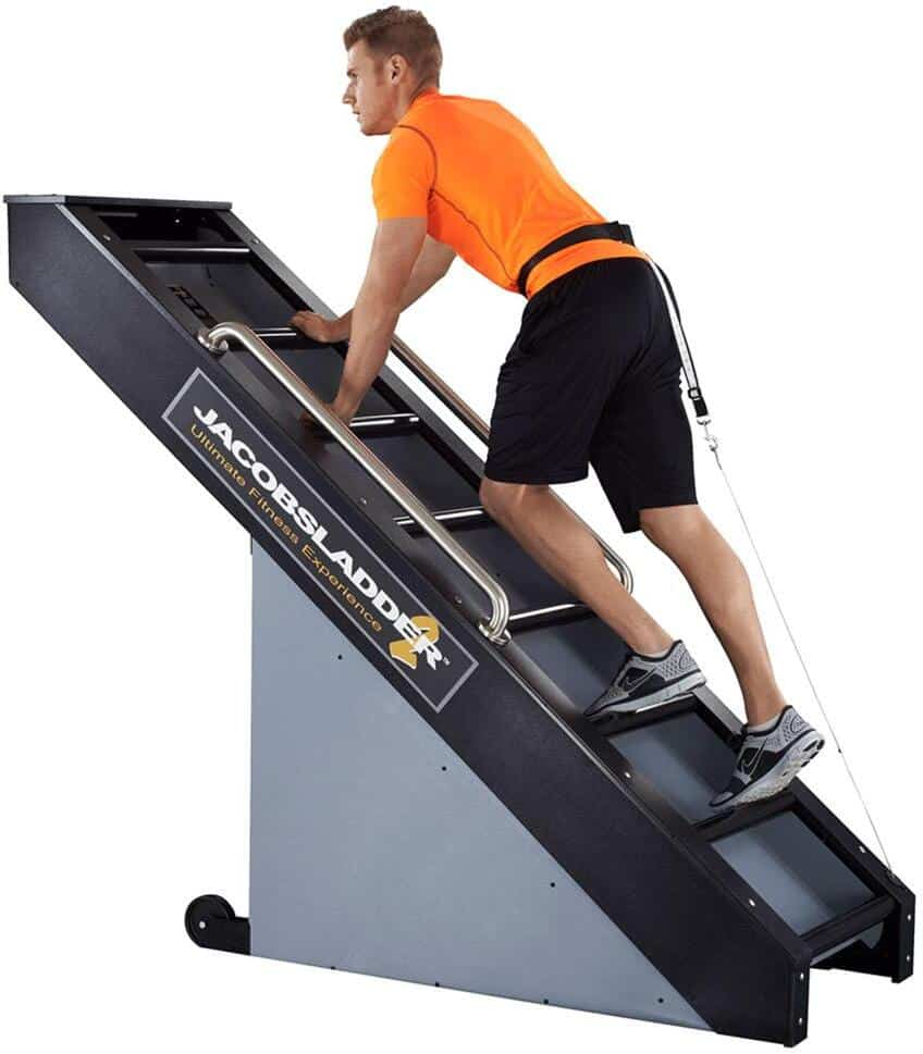 Rogue Fitness Jacobs Ladder 2 male user