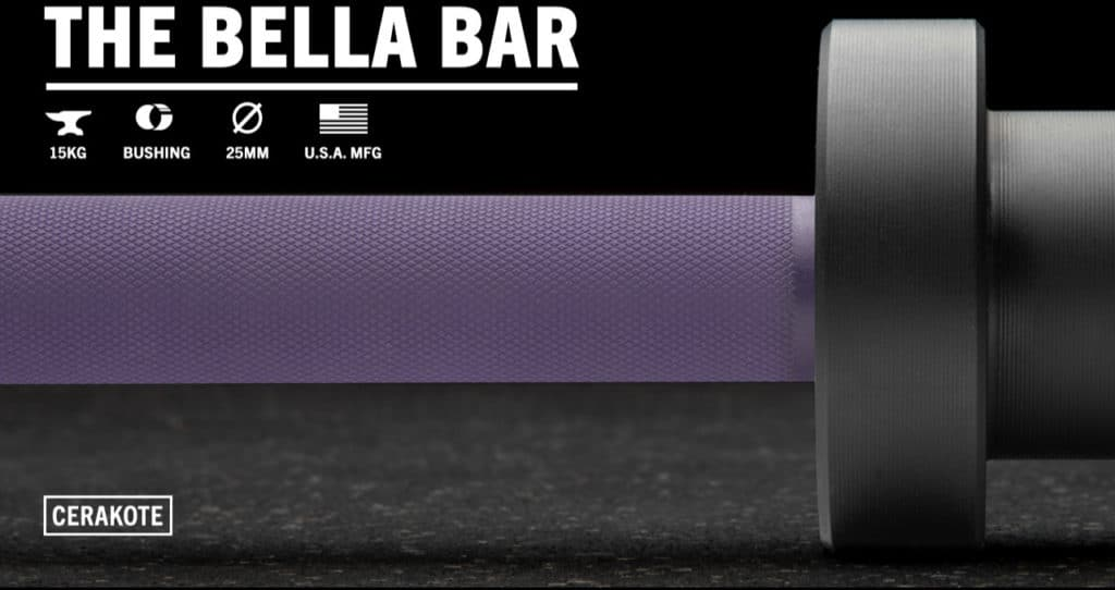 Rogue The Bella Bar 2.0 - Cerakote purple black