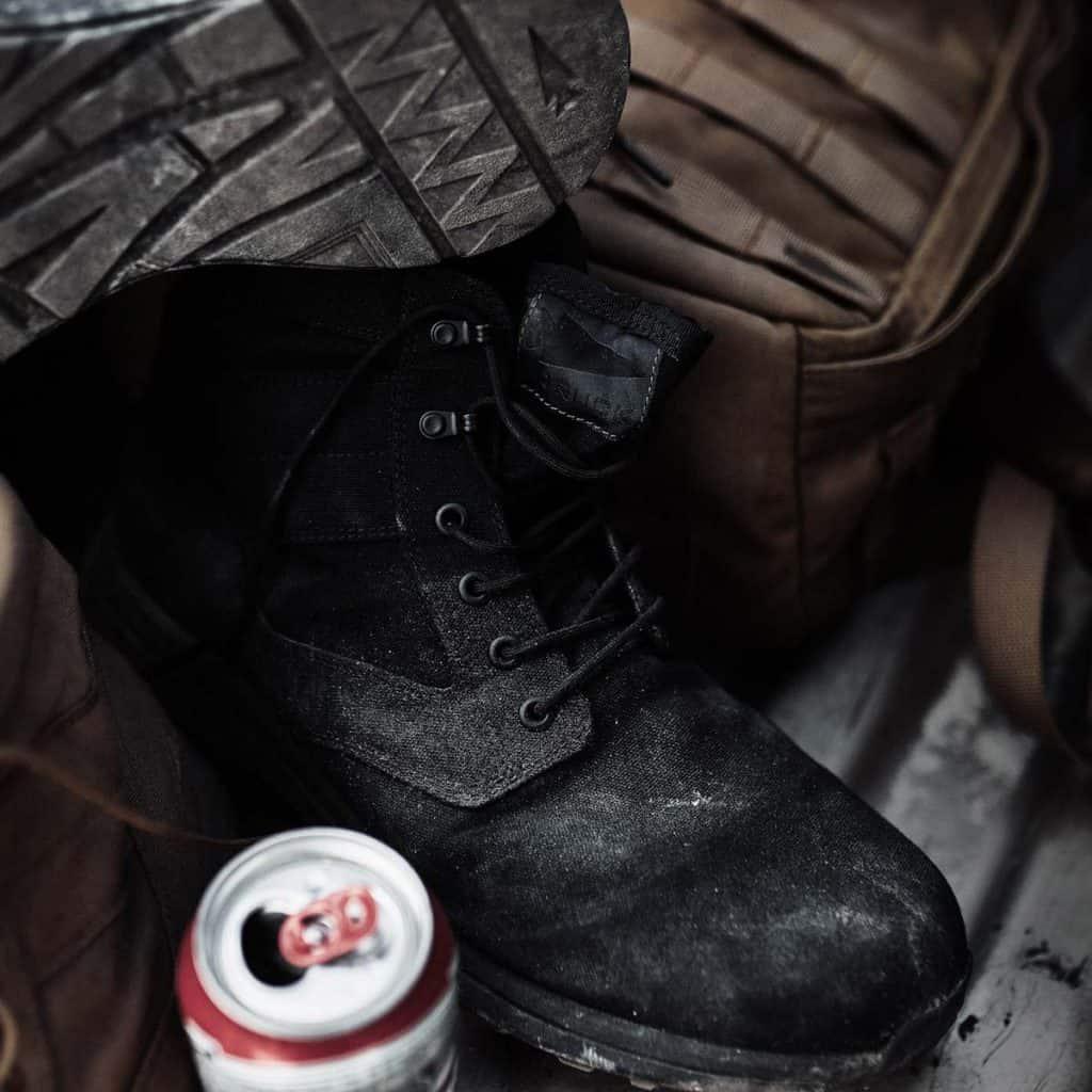 GORUCK Jedburgh Rucking Boots close up
