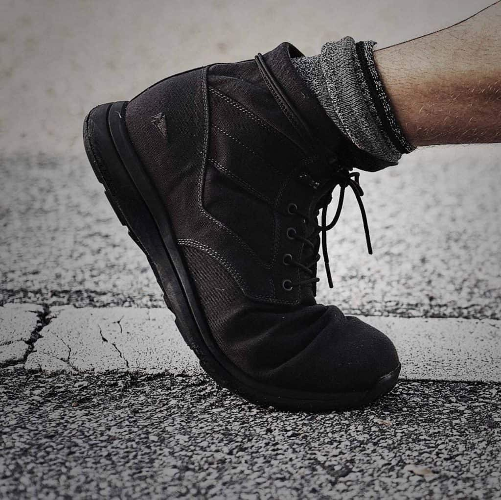 GORUCK Jedburgh Rucking Boots worn walking