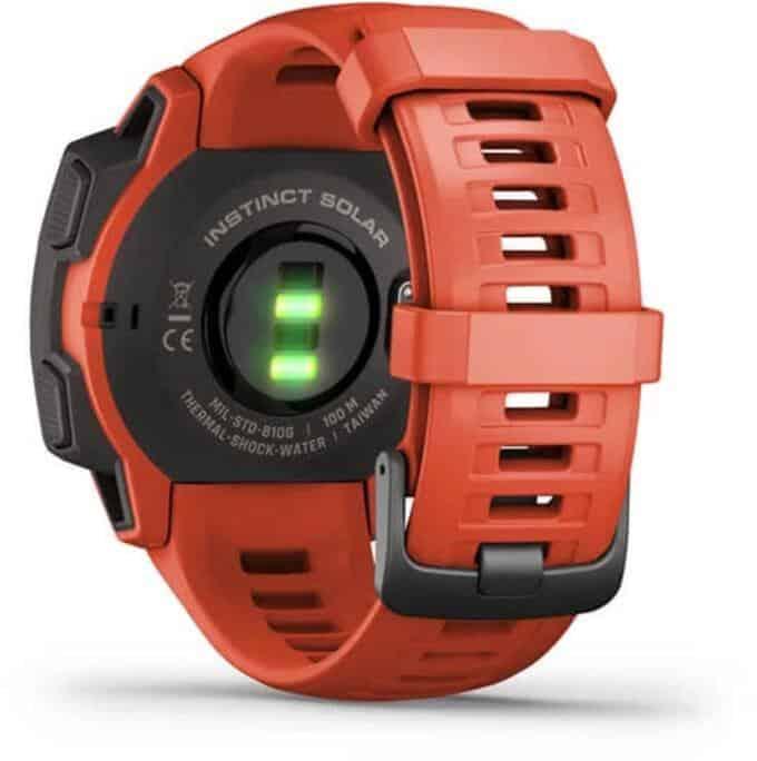 Garmin Instinct Solar Smartwatch back