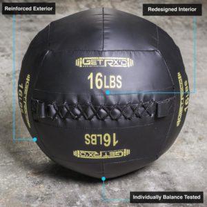 Get RX'd Premium Wall Balls 16lb