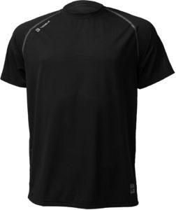 MudGear Mens Loose Tech Tee - Short Sleeve (Black) front