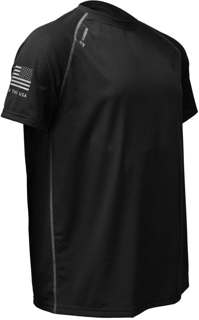 MudGear Mens Loose Tech Tee - Short Sleeve (Black) main