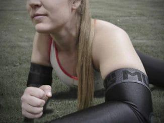 MudGear Padded Arm Sleeves (1 Pair) worn