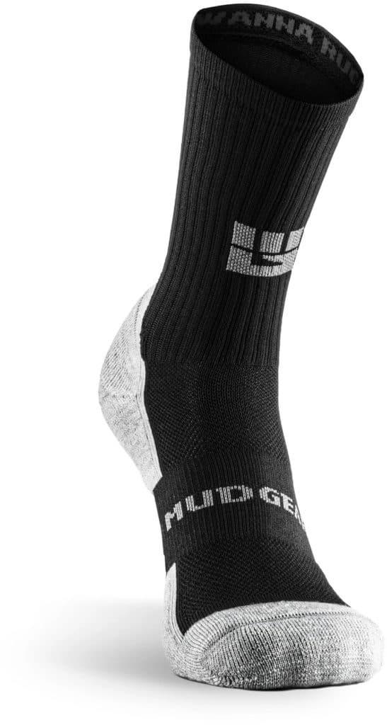 MudGear Ruck Sock Black Gray main