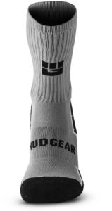 MudGear Ruck Sock Gray Black front