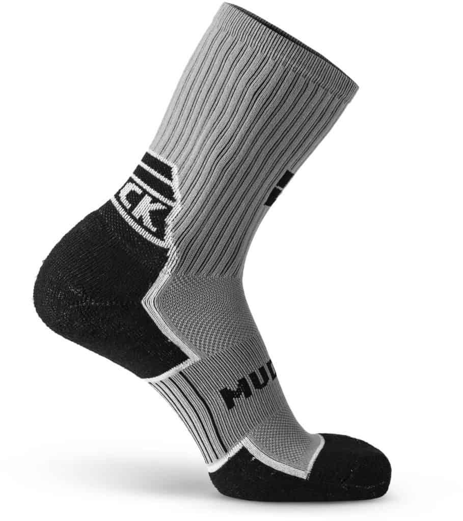 MudGear Ruck Sock Gray Black right side view