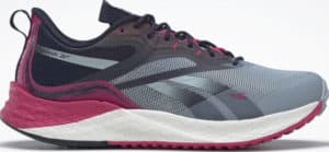 Reebok Floatride Energy 3 Adventure Womens Running Shoes Gable Grey Pursuit Pink Vector Navy right side view