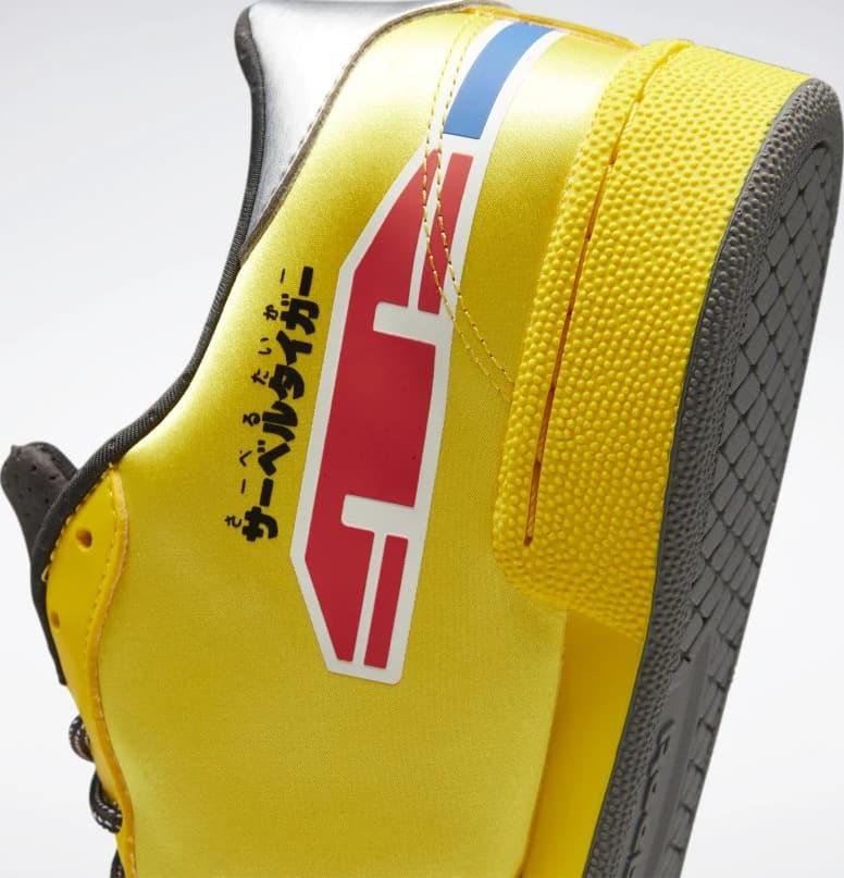 Reebok Power Rangers Club C Mens Shoes heel