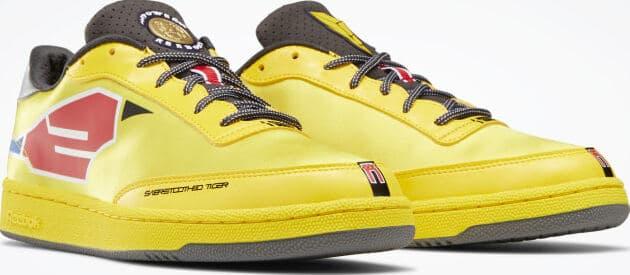 Reebok Power Rangers Club C Mens Shoes quarter view pair right