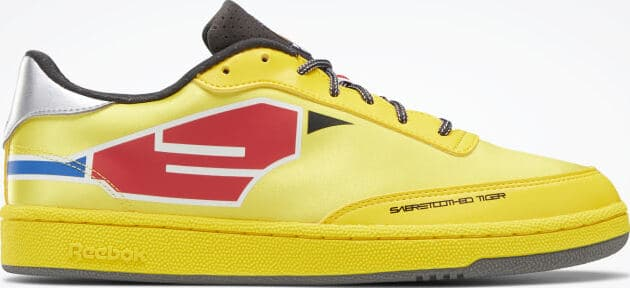 Reebok Power Rangers Club C Mens Shoes side view right