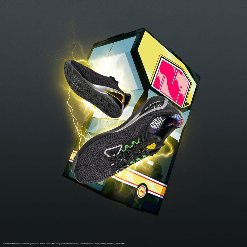 Reebok Power Rangers Nano X1 Mens Training Shoes pair
