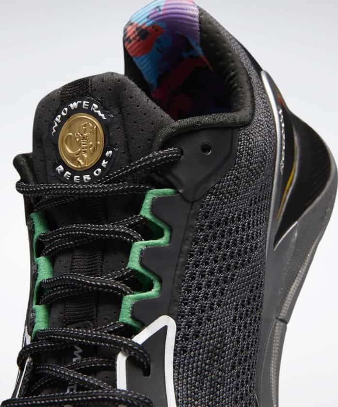 Reebok Power Rangers Nano X1 Mens Training Shoes side closeup