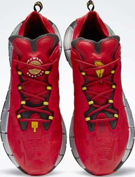 Reebok Power Rangers Zig Kinetica II Shoes top view pair
