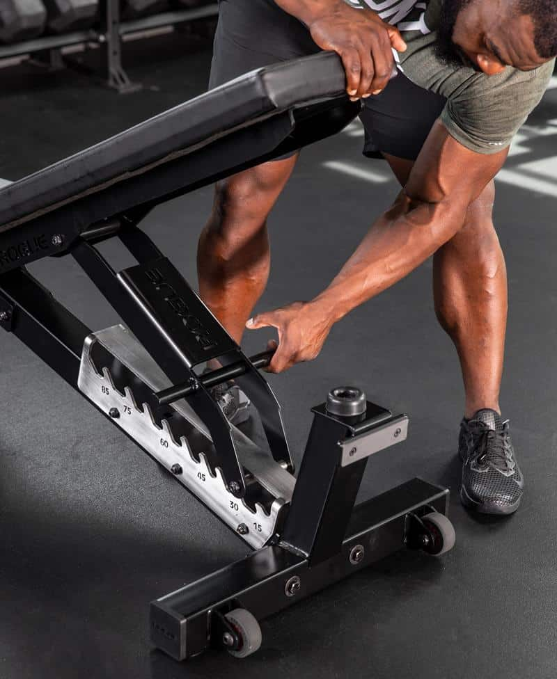 Rogue Adjustable Bench 3.0 foldable