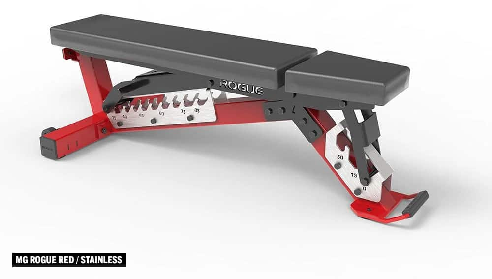 Rogue Adjustable Bench 3.0 front