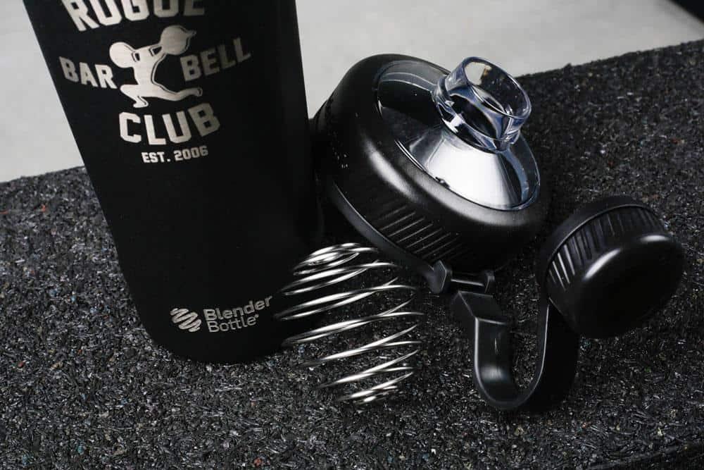 Rogue BlenderBottle Radian Insulated Stainless Steel black details