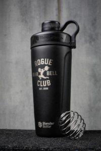 Rogue BlenderBottle Radian Insulated Stainless Steel black full