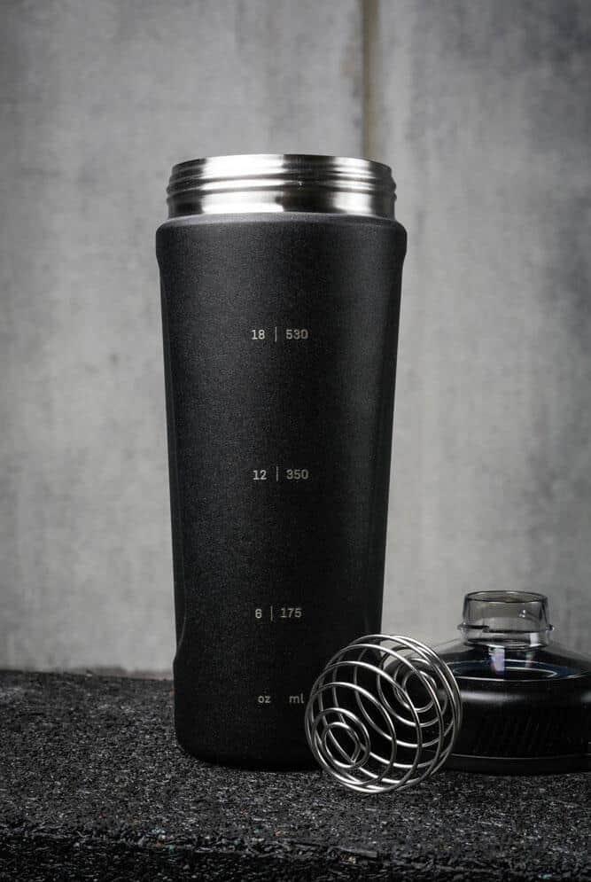 Rogue BlenderBottle Radian Insulated Stainless Steel black liters