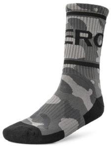 Rogue Camo Crew Socks black camo